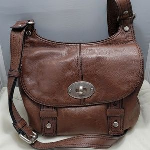 Fossil Maddox leather crossbody